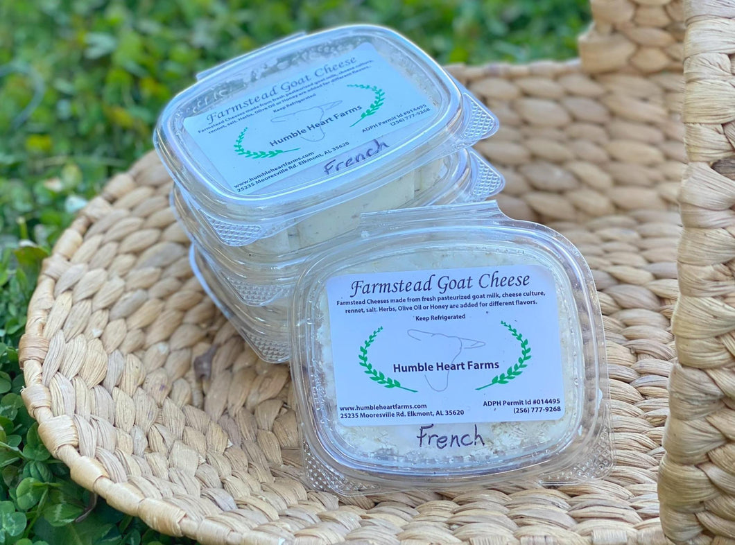 Humble Heart Goat Cheese - French