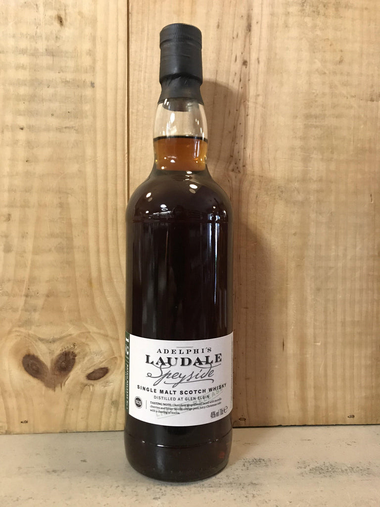 ADELPHI Laudale 12ans Glen Elgin Batch 4 Single Malt 46° Speyside 70cl - Cave du Palais, 64000 Pau