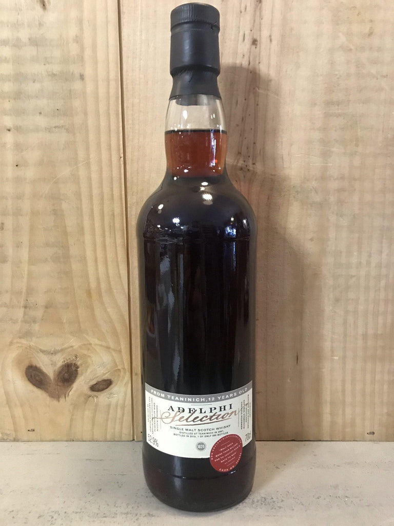 ADELPHI Teaninich 2007 12ans 52,9° Highlands 70cl