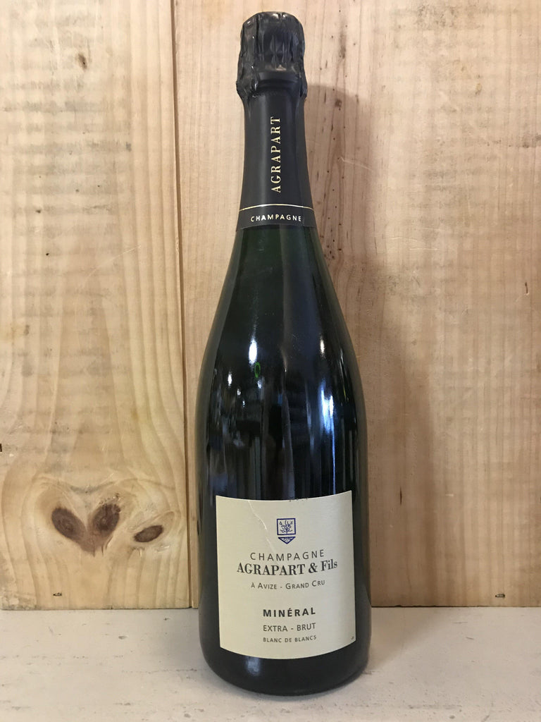 AGRAPART Mineral 2011 Blanc de Blancs Champagne Grand Cru Avize Extra Brut 75cl Blanc