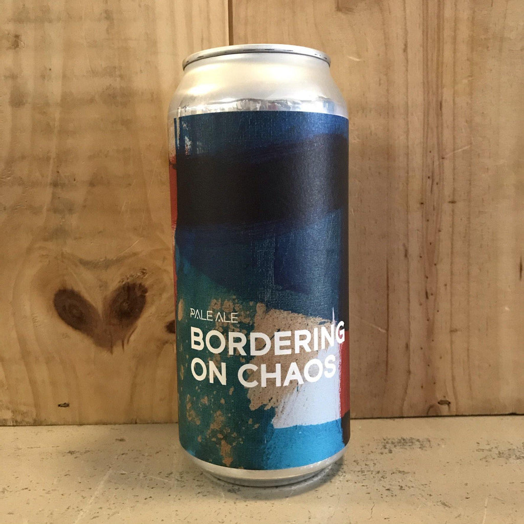 BOUNDARY Bordering on Chaos 4,5° Hazy Pale Ale 44cl Irlande