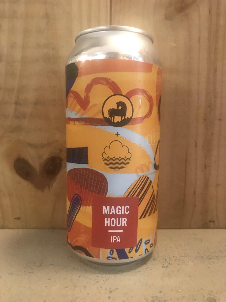 COLLAB: CLOUDWATER BREW CO & WILD HORSE Magic Hour 6,5° IPA 44cl Angleterre
