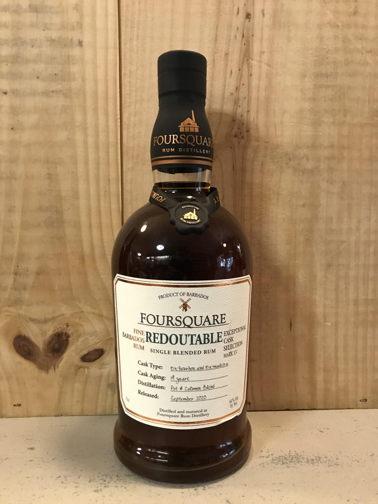 FOURSQUARE Redoutable 14ans 61° 70cl Barbades