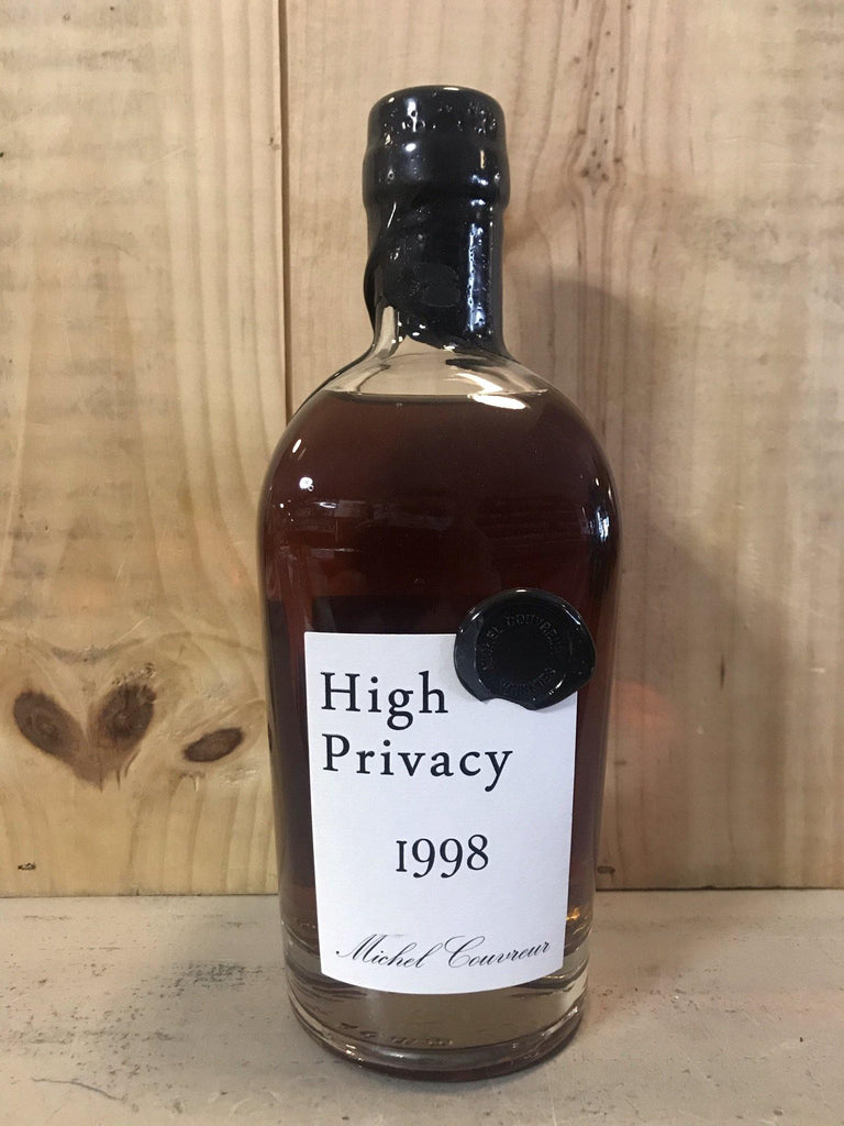 MICHEL COUVREUR High Privacy 1998 20ans 43,8° 50cl - Cave du Palais, 64000 Pau