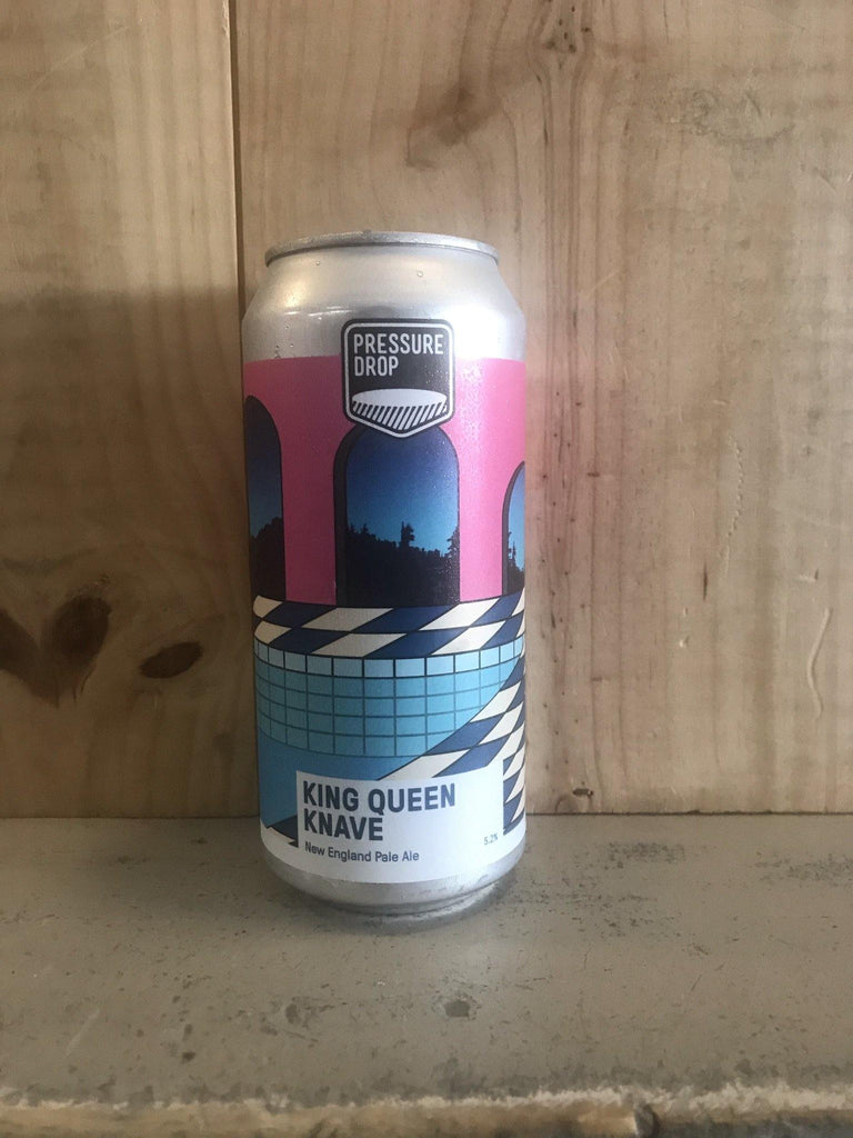 PRESSURE DROP King Queen Knave 5,2° New England Pale Ale 44cl Angleterre