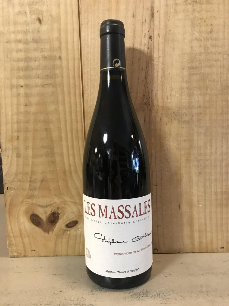 STEPHANE OTHEGUY Massales Côte Rotie 2016 75cl Rhone Rouge