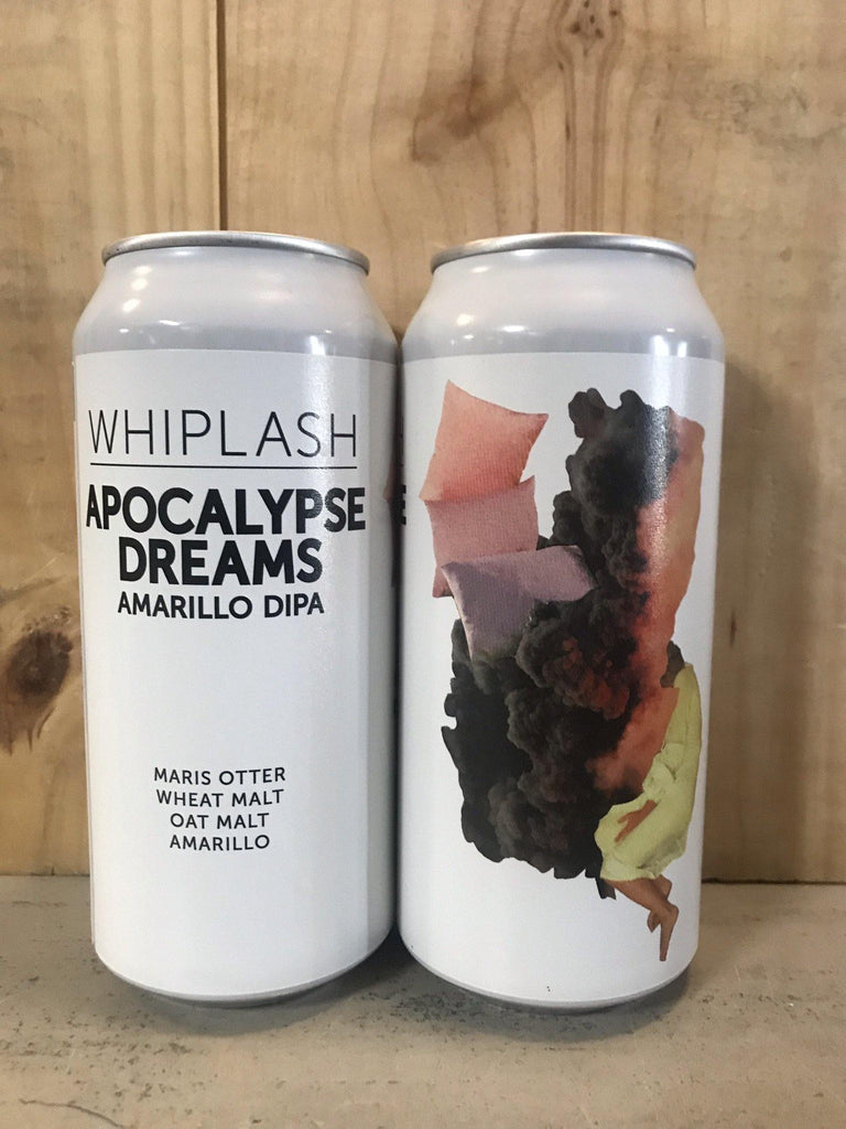 WHIPLASH Apocalypse Dreams DIPA SH Amarillo 44cl 8% can Bière