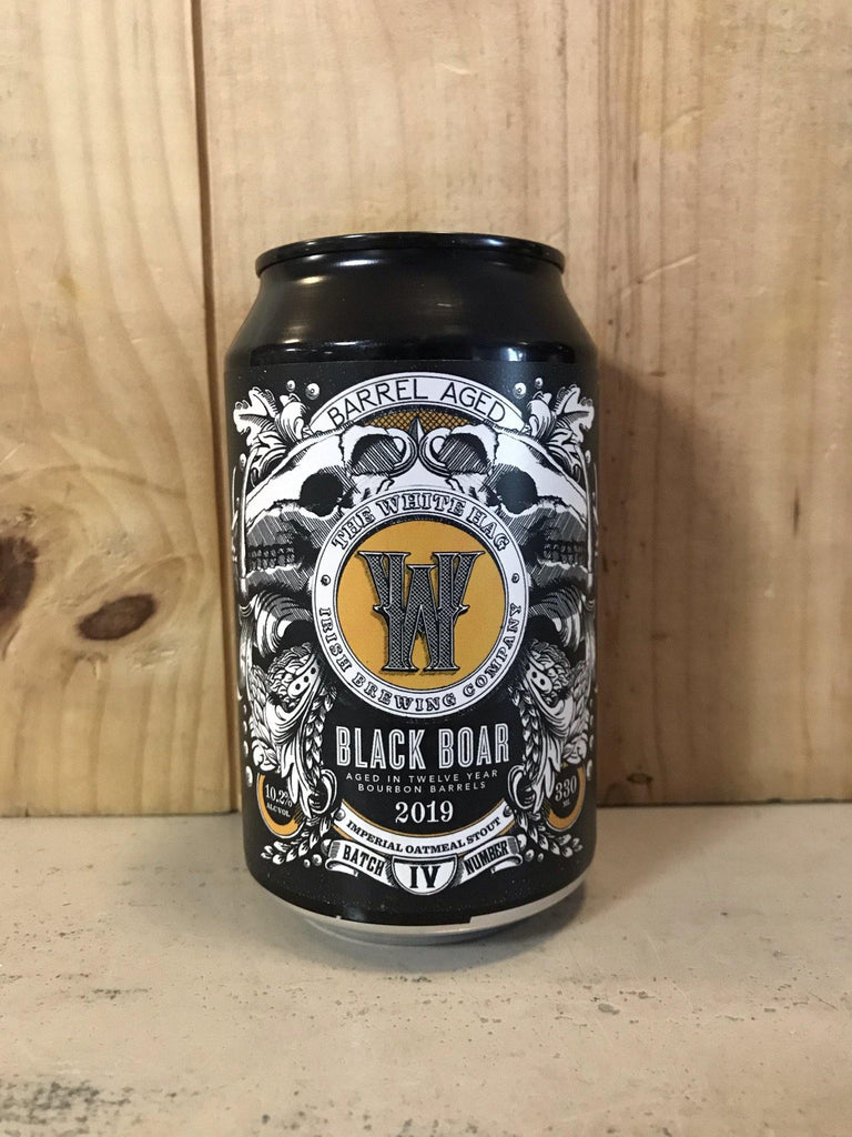 WHITE HAG Black Boar Bourbon Barrel Aged 10,2% Imperial Brown Stout 33cl Irlande