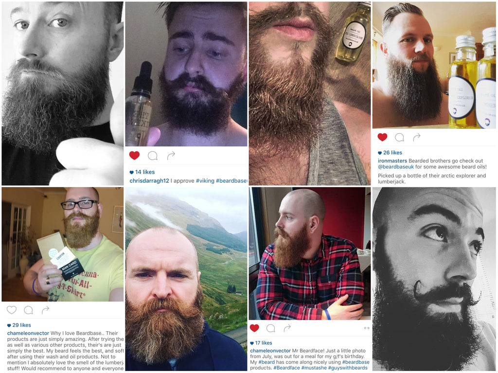 Just some of our beardbase customers.