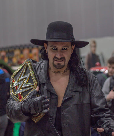 The Undertaker at ComicCon in Liverpool - iconic goatee beard