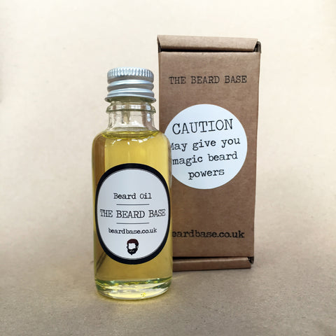 The Beard Base fragrance-free beard conditioning oil