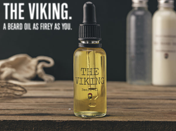 The Viking Beard Oil - Cinnamon and Orange Fragrance