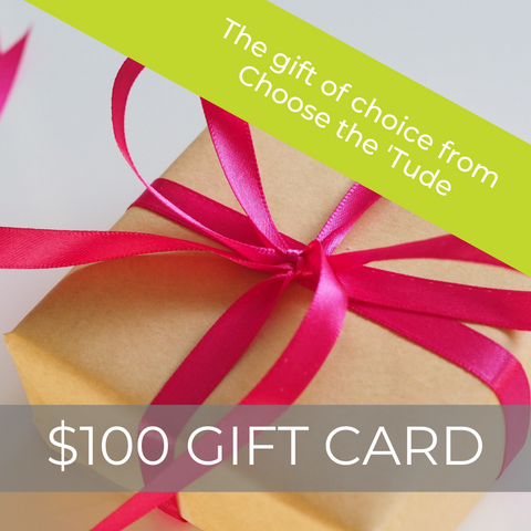 $100 Choose the 'Tude eGift Card
