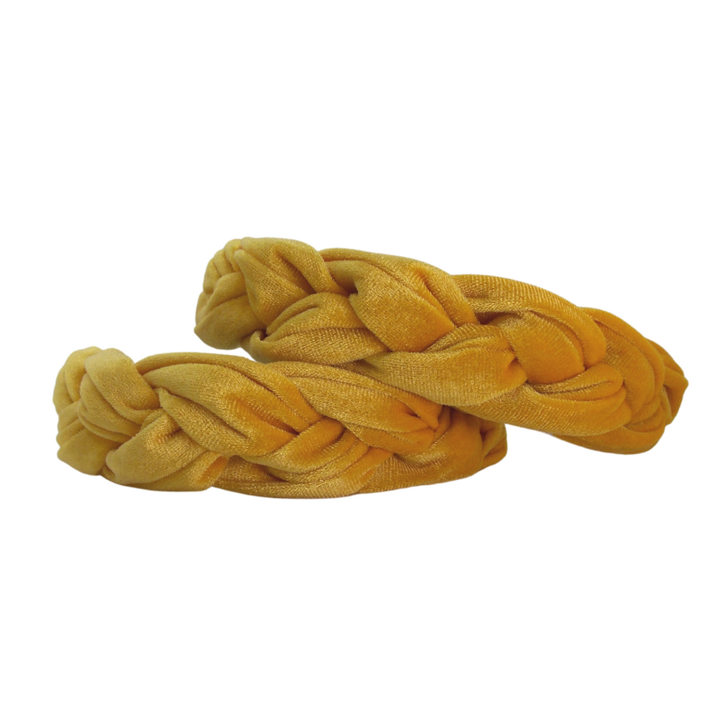 Saffron Braided Hairband