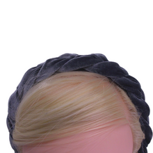 Load image into Gallery viewer, Grey Braided Headband