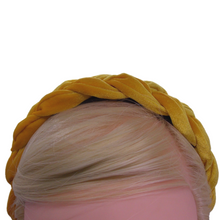 Load image into Gallery viewer, Saffron Braided Hairband