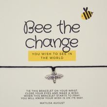 Load image into Gallery viewer, Bee the Change Bracelet