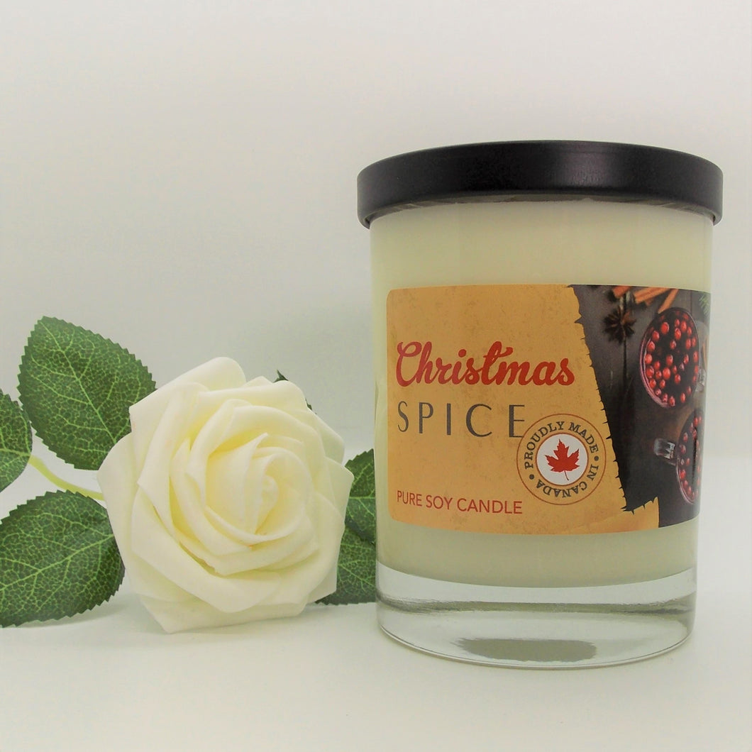 Candle Christmas Spice