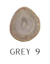 Load image into Gallery viewer, Grey Tones Geode Popsocket