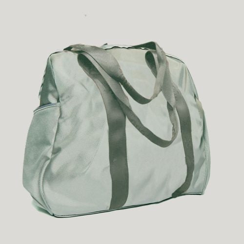 Mint Nylon Tote Bag