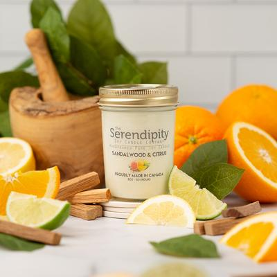 Candle Sandalwood & Citrus