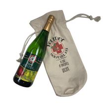 "Load image into Gallery viewer, Wine Tote ""Holiday Survival Kit"""