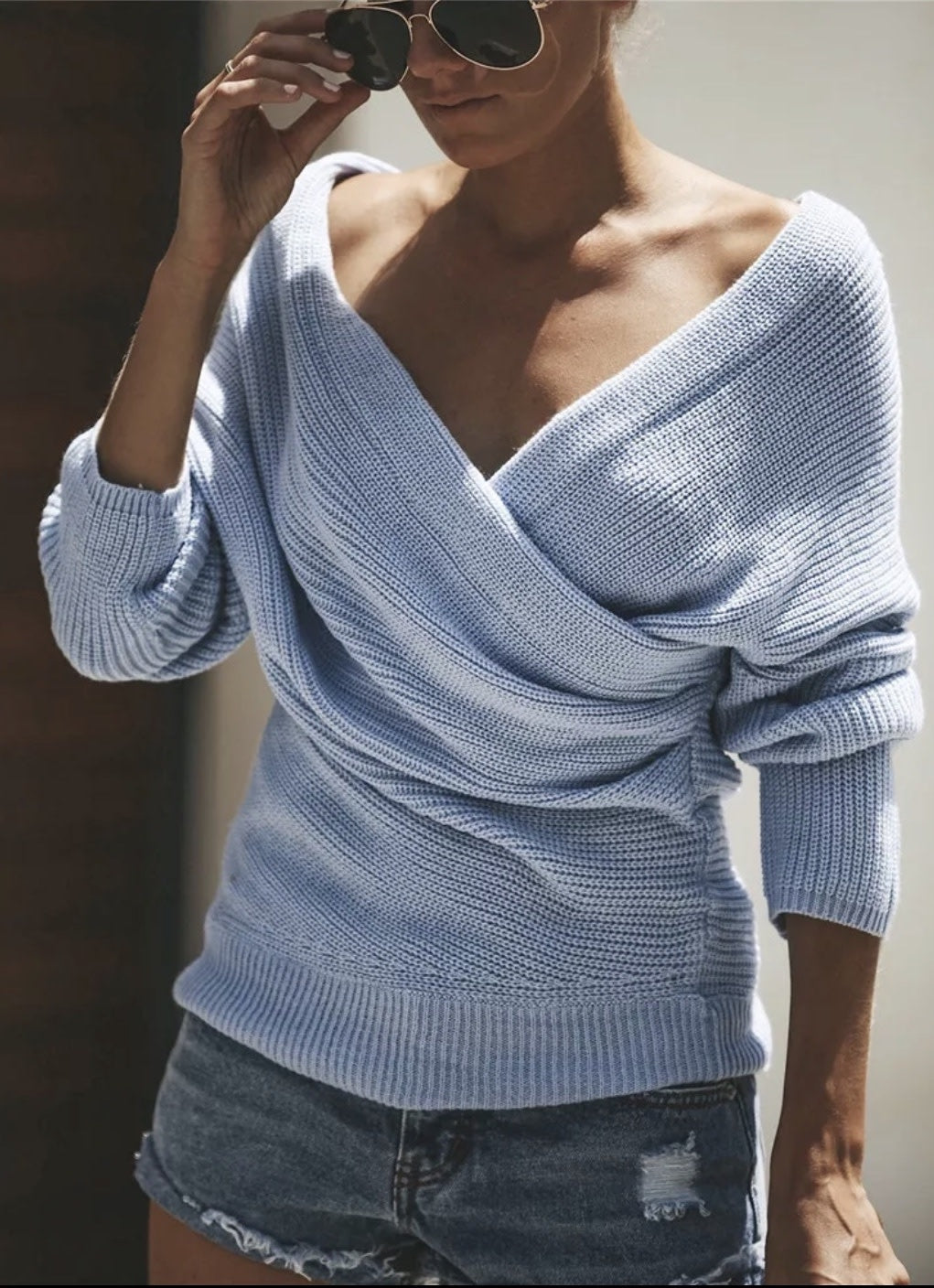 Ballerina Wrap Sweater