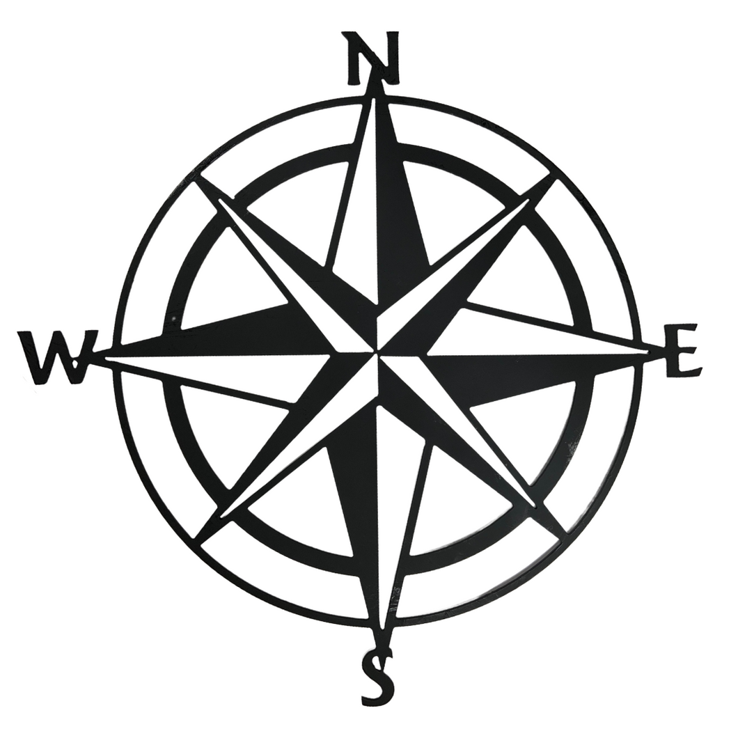 Compass Wall Sign