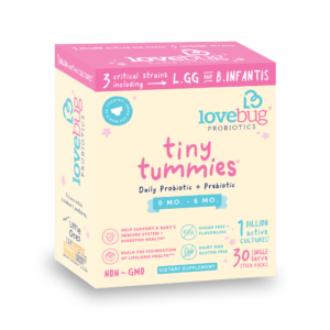 tiny tummies probiotics for babies 0-6 months old