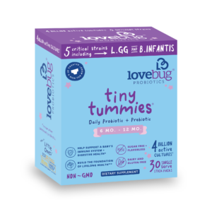 tiny tummies probiotics for children 6 to 12 months old