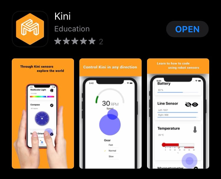 Using the KINI App (Ages 5-8)