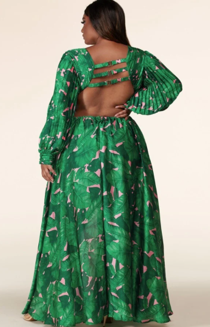DEJAVU | cut out maxi dress [Pre-Order]