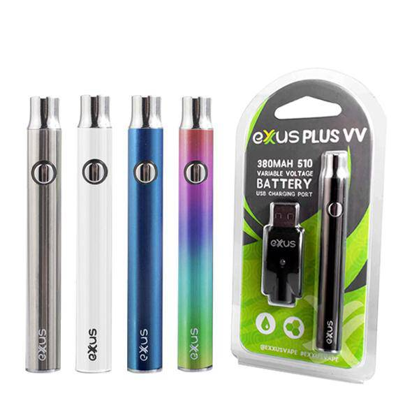 Exxus Plus VV Battery and USB Charger Vape Blister Pack