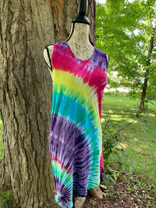 LAT Racerback , Tie Dye Tank Dress