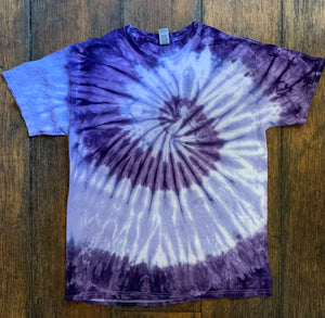 Tie-Dye Short Sleeve T-Shirt, Size Large