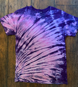 Tie-Dye Short Sleeve T-Shirt, Size Medium