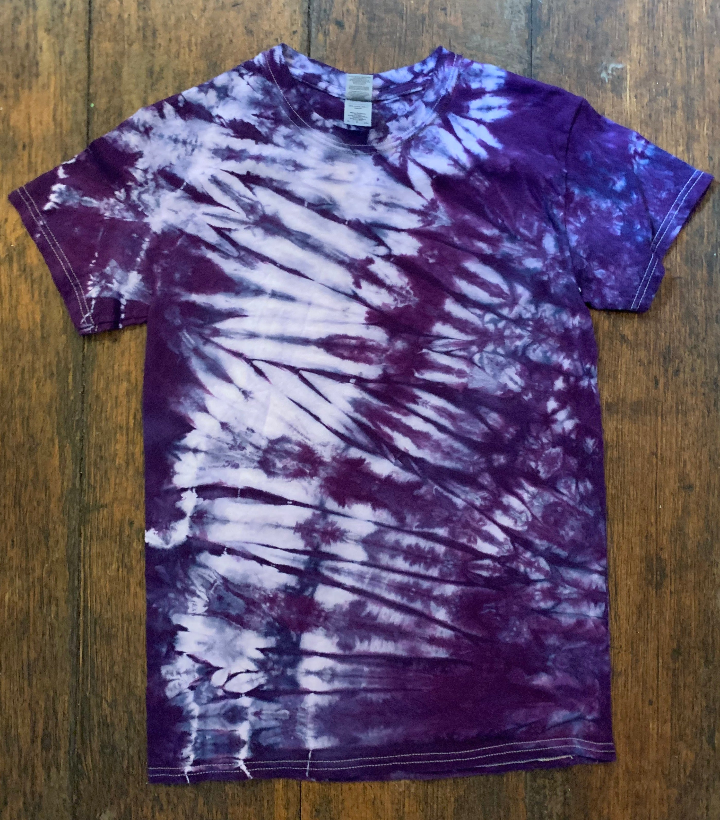 Tie-Dye Short Sleeve T-Shirt, Size Small