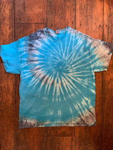 Tie-Dye Short Sleeve T-Shirt, Size X-Large