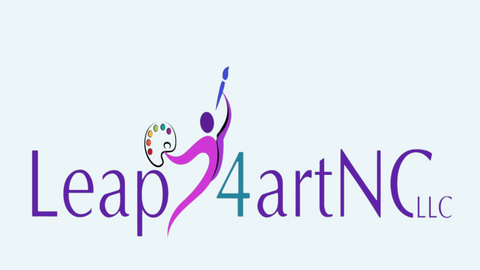 Leap4artNC LLC with differently colored figure