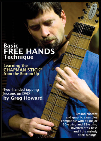 Basic Free Hands Technique DVD - Special Sale Price