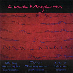 "Code Magenta - ""Groove poetry"" with Dawn Thompson and Leroi Moore"