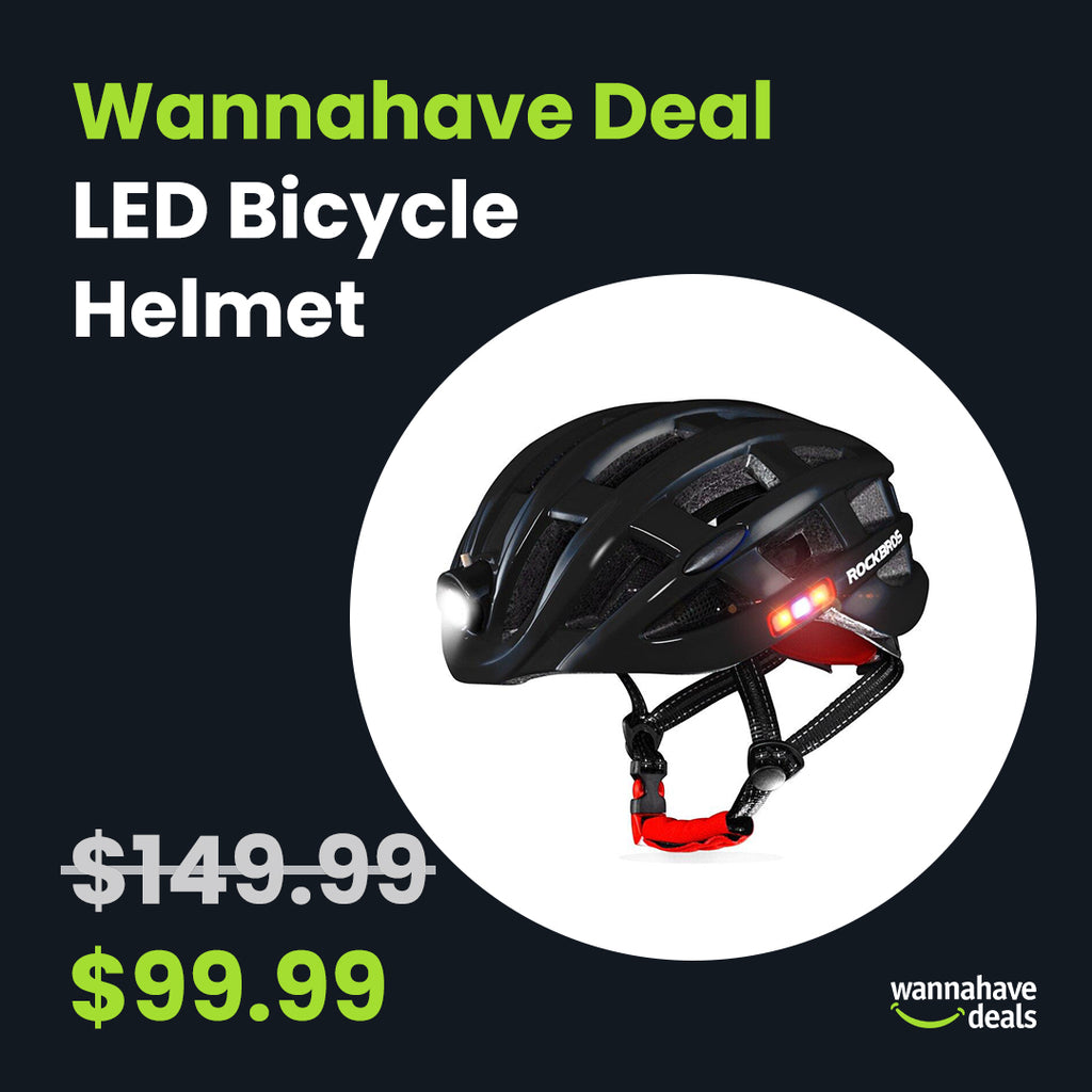 LED Bicycle Helmet