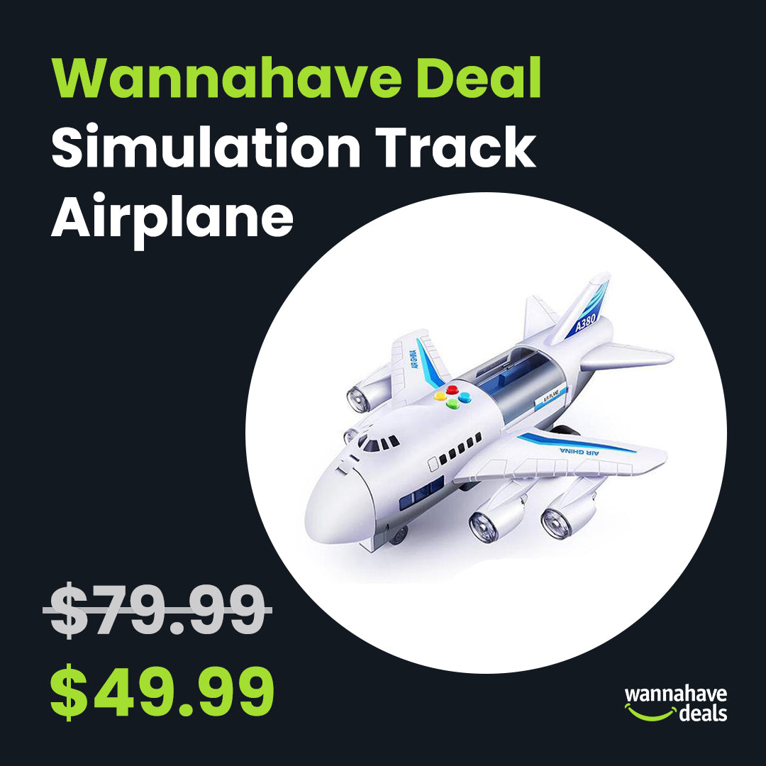 Simulation Track Airplane