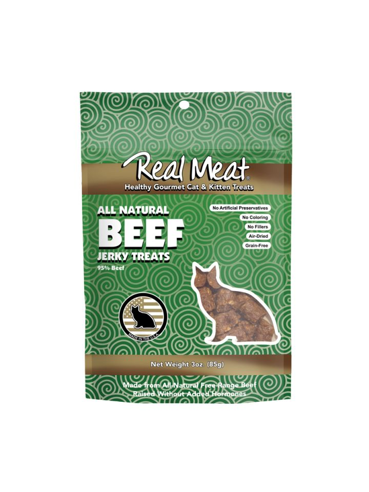 Real Meat Beef Cat Treats