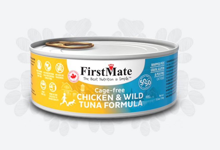 FirstMate Cage Free Chicken & Wild Tuna 50/50