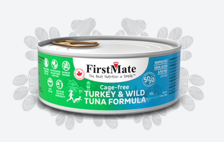 FirstMate Cage Free Turkey & Wild Tuna 50/50