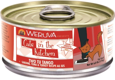 Cats in the Kitchen:  Two Tu Tango