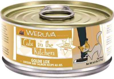 Cats in the Kitchen:  Goldie Lox
