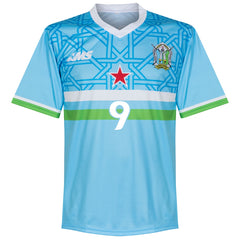 Djibouti Player Issue Home Shirt #9