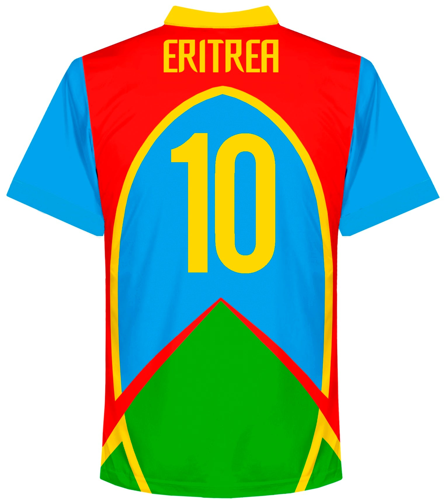 Eritrea 2018-19 Away Shirt GOITOM #10